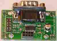 RS232 serial interface board